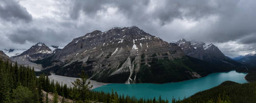 Peyto Lake without Sunglasses by eegariM