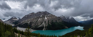 Peyto Lake with Sunglasses by eegariM
