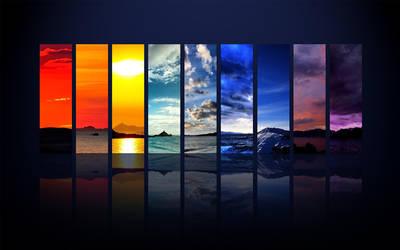 Spectrum of the Sky by GaaraofHSV