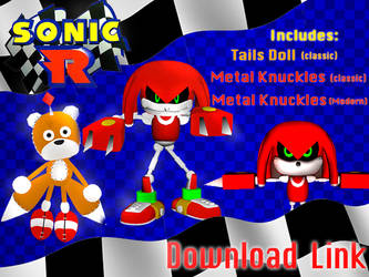 Metal Knuckles and Tails Doll Download Link by Nibroc-Rock