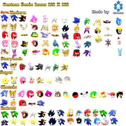 Sonic Icon Collection Version2 by Nibroc-Rock
