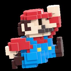 8-bit Mario Smash Style 3/8 by Nibroc-Rock