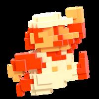 8-bit Mario Smash Style 5/8 by Nibroc-Rock