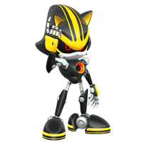 Eggman Nega Sends in Metal Sonic 3.0! by Nibroc-Rock