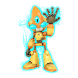 Ultimate Emerl Legacy Render by Nibroc-Rock