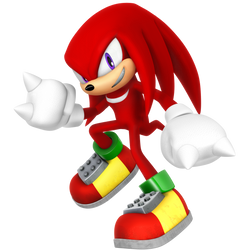Legacy Knuckles the Echidna Render by Nibroc-Rock