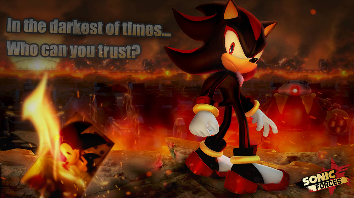 Shadow Friend or Foe? Sonic Forces wallpaper by Nibroc ...