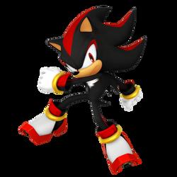 Shadow The Hedgehog (Legacy Render) by Nibroc-Rock