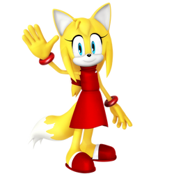 Zooey The Fox Render by Nibroc-Rock