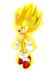Super Sonic 7K Render by Nibroc-Rock