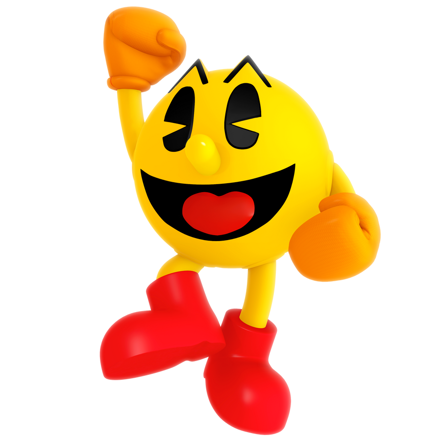 It's just a photo of Exhilarating Pac Man Render