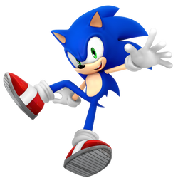 Sonic 27th Render by Nibroc-Rock