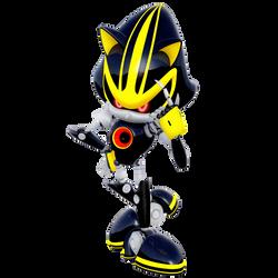 Metal Sonic 3.0 Legacy Render by Nibroc-Rock