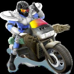 Mach Rider Render ALT by Nibroc-Rock