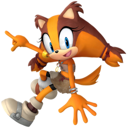 Sticks The Badger 2018 Render by Nibroc-Rock