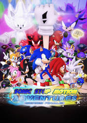 Sonic Stop Motion Adventures Poster by Nibroc-Rock