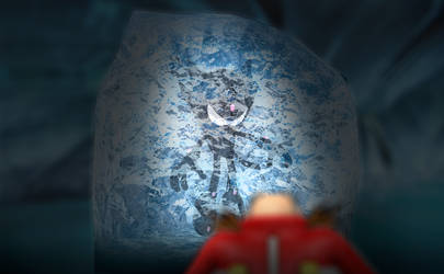 lurking in the ice (Render Preview) by Nibroc-Rock
