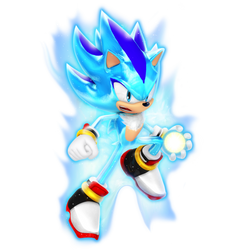 What if: Sonic and Shadow Fused, God Form. by Nibroc-Rock
