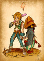final fantasy ix by felipeamorimilustra