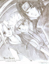 Naruto- Team Seven by mingming07