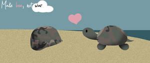 Make love, not war by dani9del9