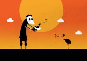 Bird man by dani9del9
