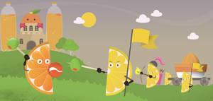 Save the orange! by dani9del9