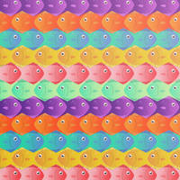 fish pattern by dani9del9