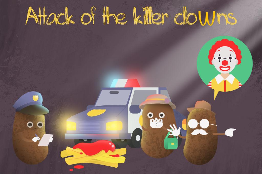 Attack of the killer clowns by dani9del9