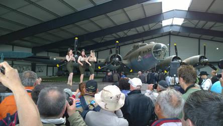 B-17 with Manhattan Dolls by grifter974