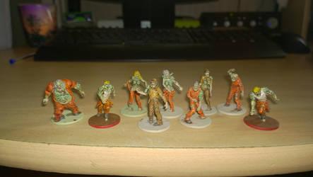 Zombicide -  Berserker Zombies by grifter974