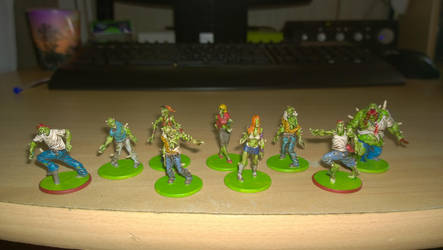 Zombicide - Toxic Zombies by grifter974