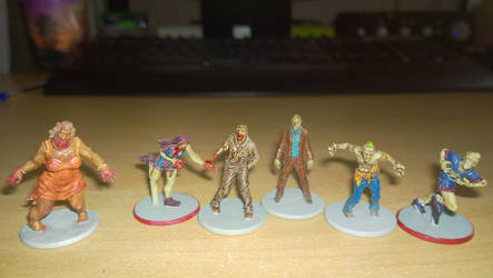 Zombicide - Zombies by grifter974