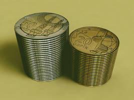 Azerbaijan Coin by rasulh