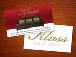 Klass Mebel - Business Card by rasulh