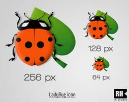 LadyBug icon by rasulh