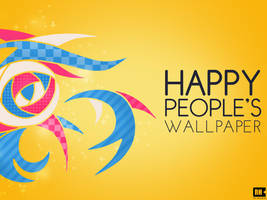 Happy Peoples Wallpaper by rasulh