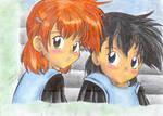 Ashley et Mistic AaMl Children by MiyaToriaka