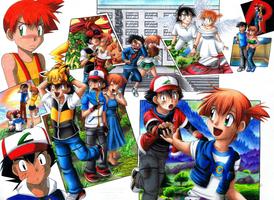 Pokeshipping Anniversary13 - We've come a long way by MiyaToriaka