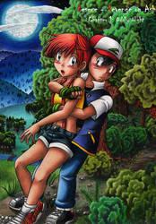 Rescue - Revenge on Ash - Cover Chapter 1 by MiyaToriaka