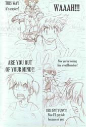 Rescue - Chapter 1 - page 37 [Sketch] by MiyaToriaka