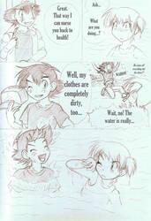 Rescue - Chapter 1 - page 38 [Sketch] by MiyaToriaka
