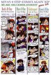 4 step comics again by MiyaToriaka