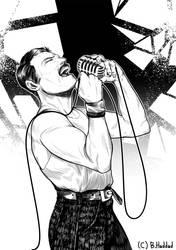 Freddy Mercury Tribute by B-haddad94