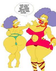 curvy twins by maxtlat