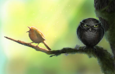 The Early Bird by Zoltan86