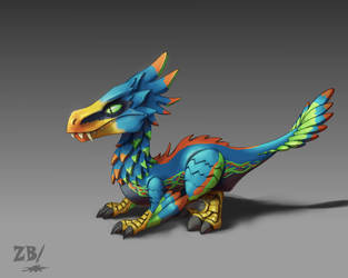 Missing Link Dragon - DML contest by Zoltan86