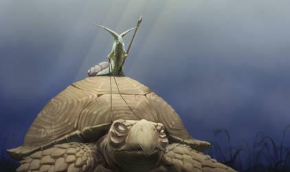 Tortoise Rider by Zoltan86
