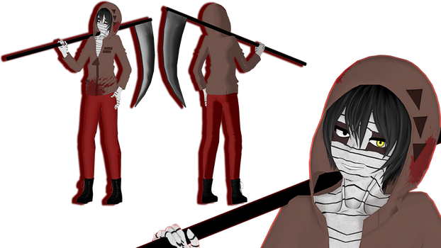 [MMD/Angels of Death] TDA Zack (Isaac Foster) by DinFay