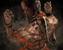 Scorpion Amulet by Jessada-Art